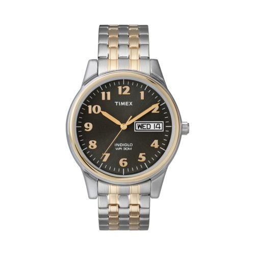 Timex Indiglo Two Tone Expansion Watch - T26481 - Men