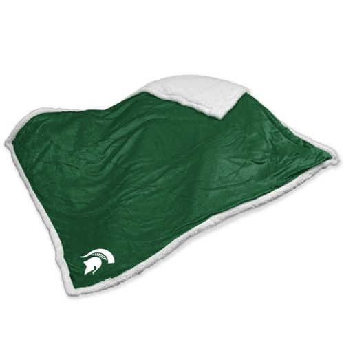 Michigan State Spartans Sherpa Blanket