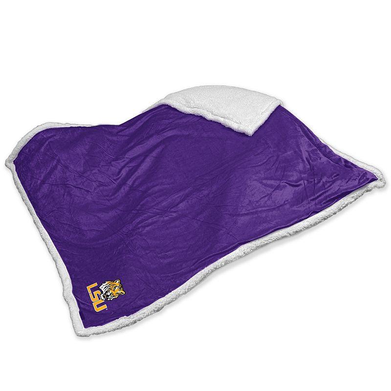 LSU Tigers Sherpa Blanket