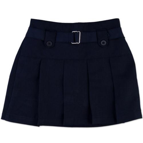 Chaps Twill Pleated School Uniform Skort - Girls 4-6x