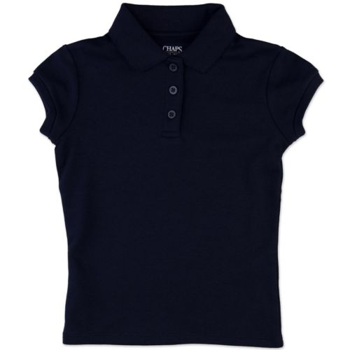 Girls Plus Chaps Picot School Uniform Polo