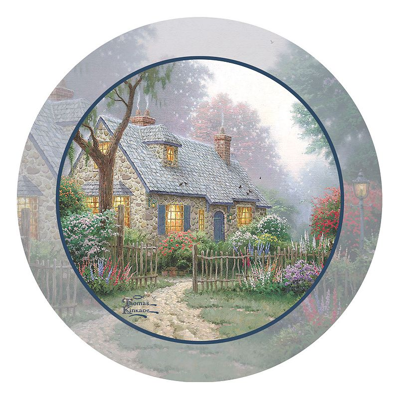 Thirstystone Thomas Kinkade ''Foxglove Cottage'' 4-pc. Coaster Set