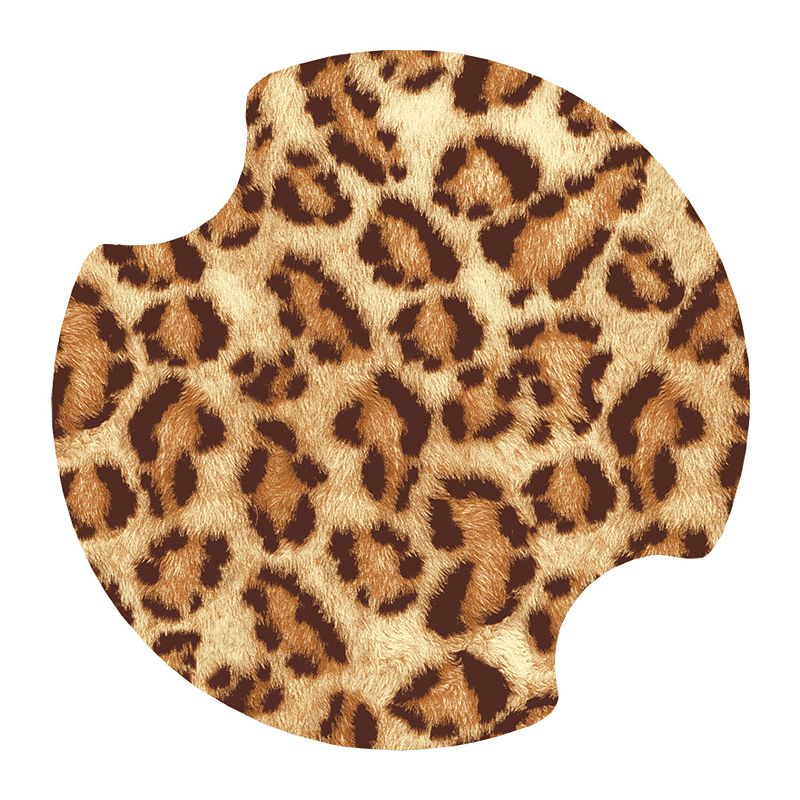 Thirstystone Leopard 2-pc. Car Coaster Set