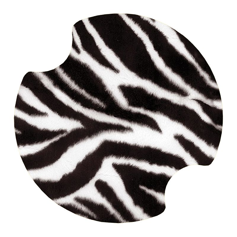 Thirstystone Zebra 2-pc. Car Coaster Set
