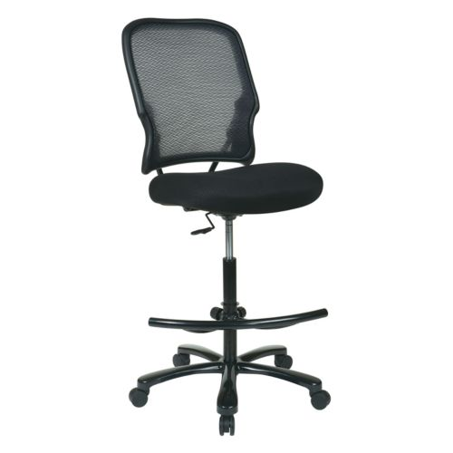 Office Star Products Big Man's AirGrid Drafting Chair