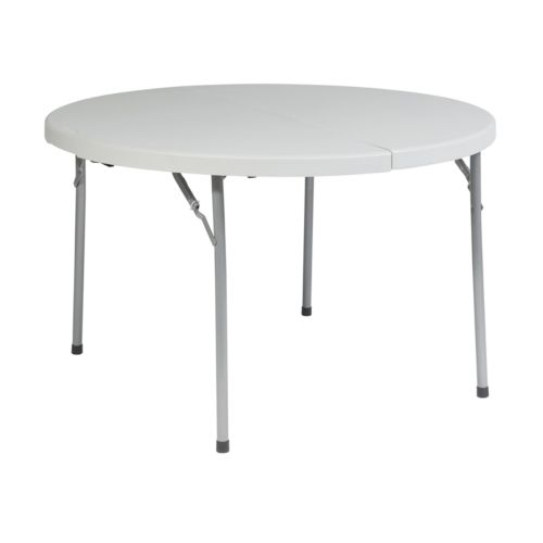 Office Star Products 4-ft. Round Folding Table