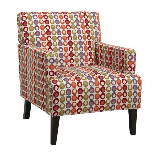 Office Star Products Avenue Six Carrington Arm Club Chair