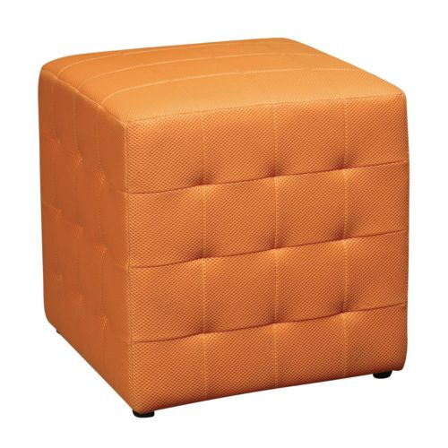 Office Star Products Avenue Six Detour Cube Ottoman
