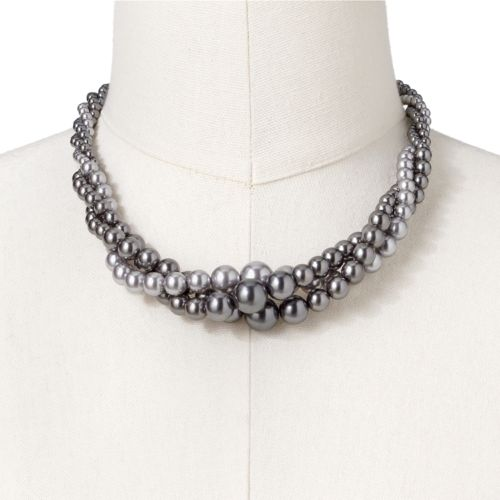 Croft & Barrow® Simulated Pearl Multistrand Necklace