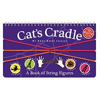 Klutz Cat's Cradle Activity Book by University Games
