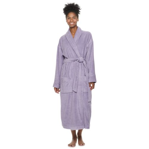 Women's SONOMA life + style® Turkish Cotton Robe