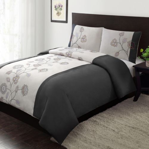 Home Classics® Ella 3-pc. Duvet Cover Set - Full/Queen