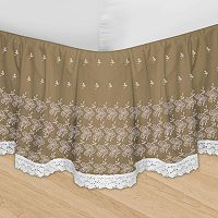 Veratex Huys Adjustable Embroidered Bed Skirt
