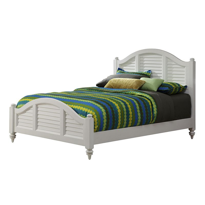Home Styles Bermuda White Queen Bed