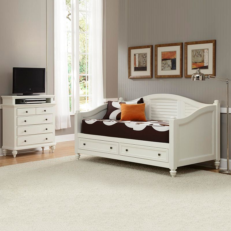 Home Styles Bermuda Daybed and TV Chest