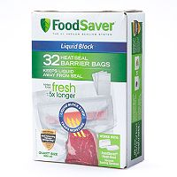 FoodSaver Heat-Seal Barrier Bags 32-pk.