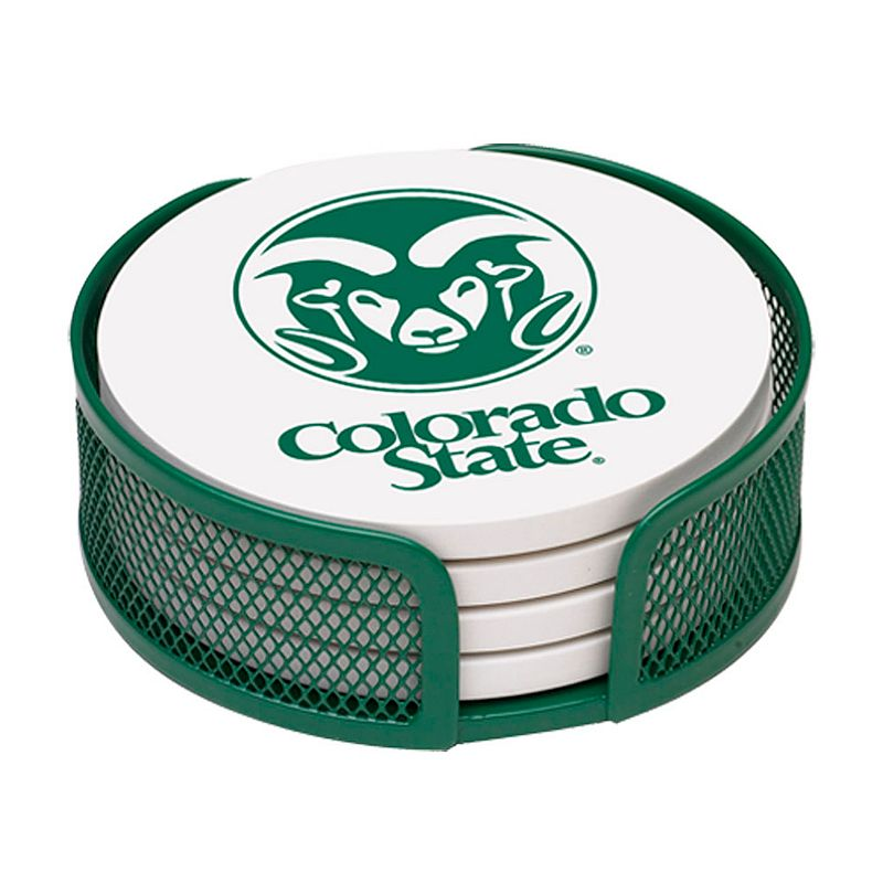 Thirstystone Colorado State Rams 4-pc. Coaster Set