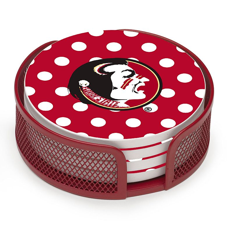 Thirstystone Florida State Seminoles 4-pc. Coaster Set