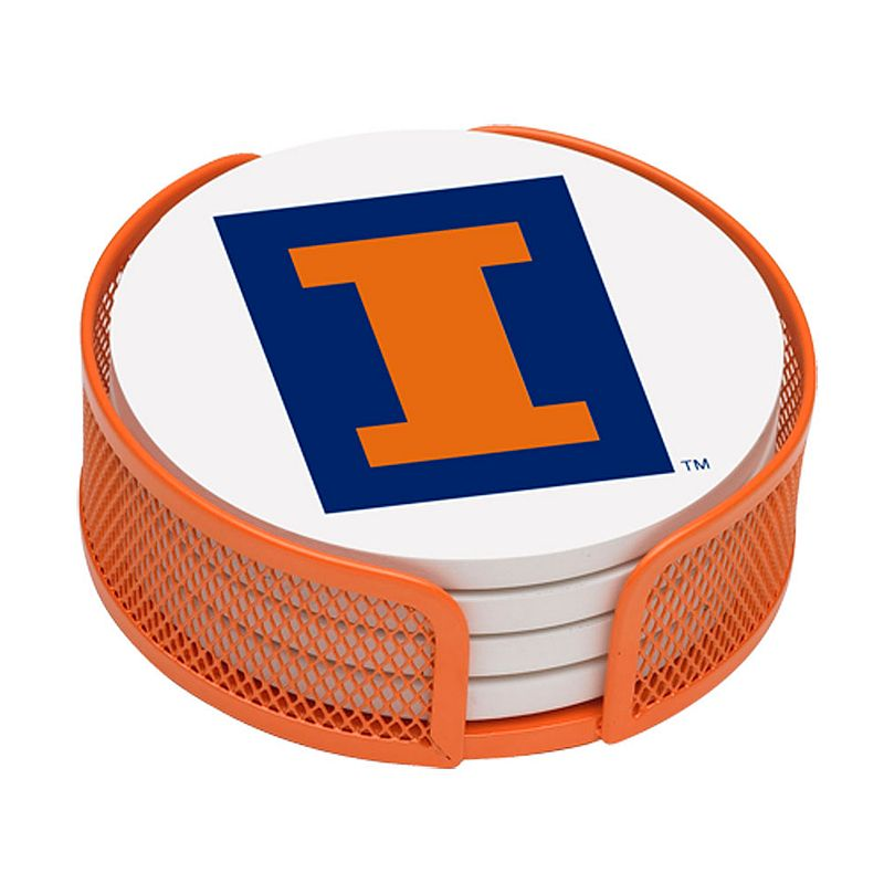 Thirstystone Illinois Fighting Illini 4-pc. Coaster Set