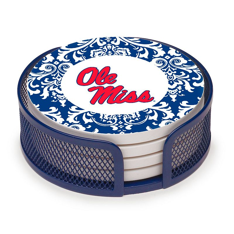 Thirstystone Ole Miss Rebels 4-pc. Coaster Set
