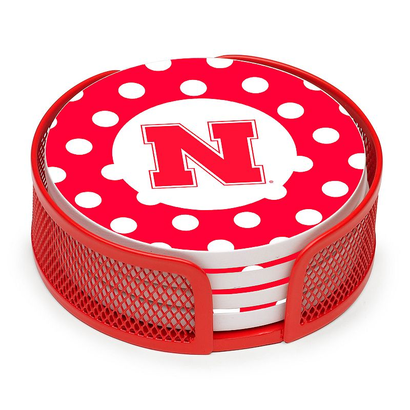 Thirstystone Nebraska Cornhuskers 4-pc. Coaster Set