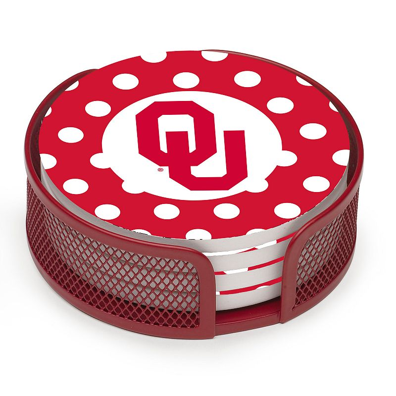 Thirstystone Oklahoma Sooners 4-pc. Coaster Set