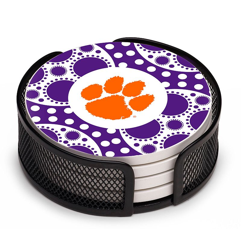 Thirstystone Clemson Tigers 4-pc. Coaster Set