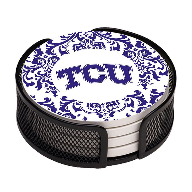 Thirstystone TCU Horned Frogs 4-pc. Coaster Set
