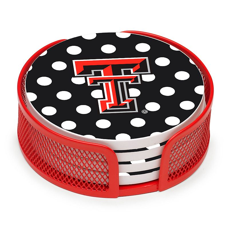 Thirstystone Texas Tech Red Raiders 4-pc. Coaster Set