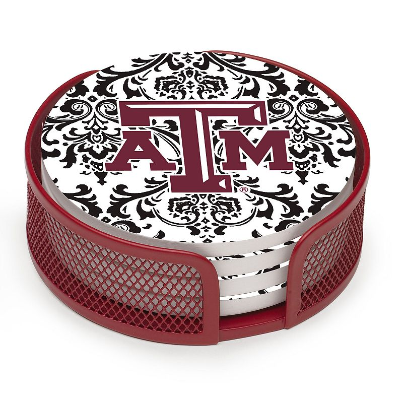 Thirstystone Texas A and M Aggies 4-pc. Coaster Set