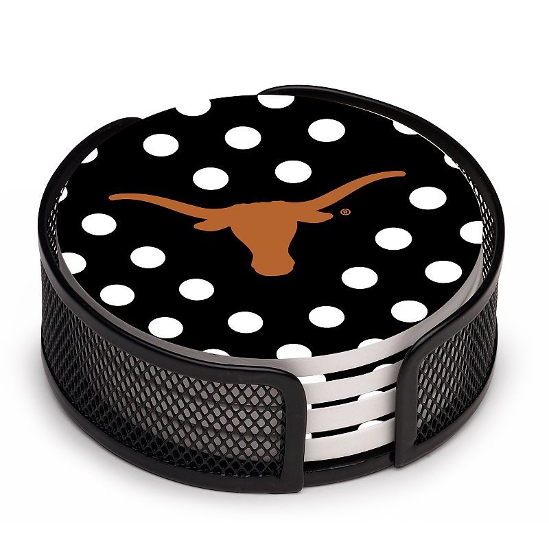 Thirstystone Texas Longhorns 4-pc. Coaster Set