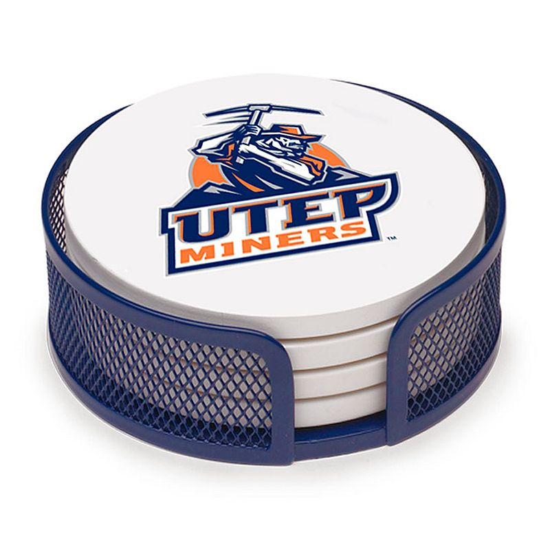 Thirstystone UTEP Miners 4-pc. Coaster Set