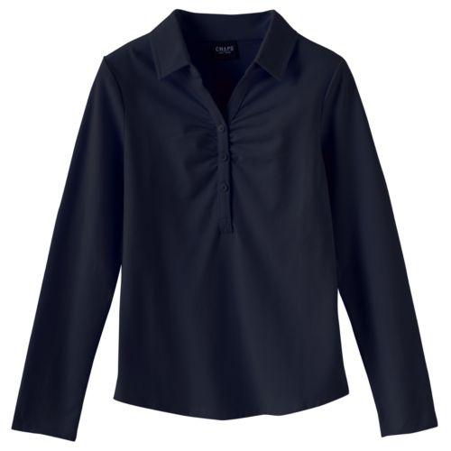 Chaps Stretch School Uniform Polo - Girls 7-16