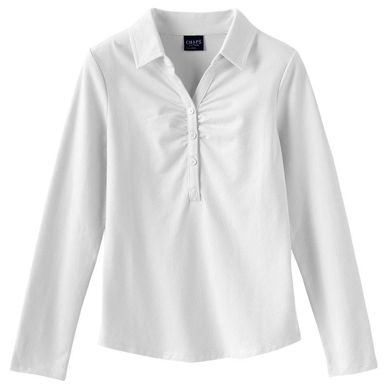 Girls 7-16 Chaps Stretch School Uniform Polo