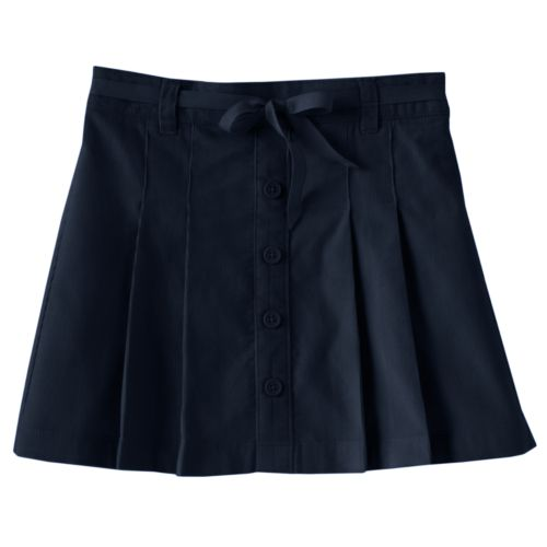 Girls 4-6x Chaps Pleated Corduroy School Uniform Skort
