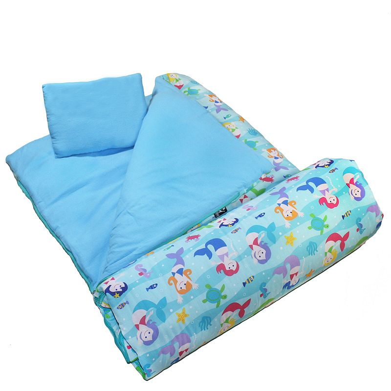 Wildkin Olive Kids Mermaids Sleeping Bag - Kids