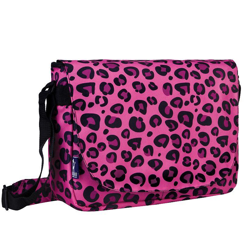 Wildkin Leopard Laptop Messenger Bag - Kids