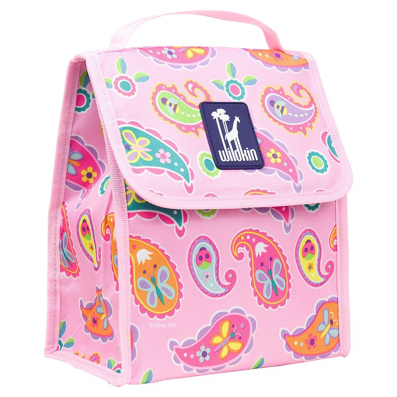 Wildkin Olive Kids Paisley Munch 'n Lunch Bag - Kids