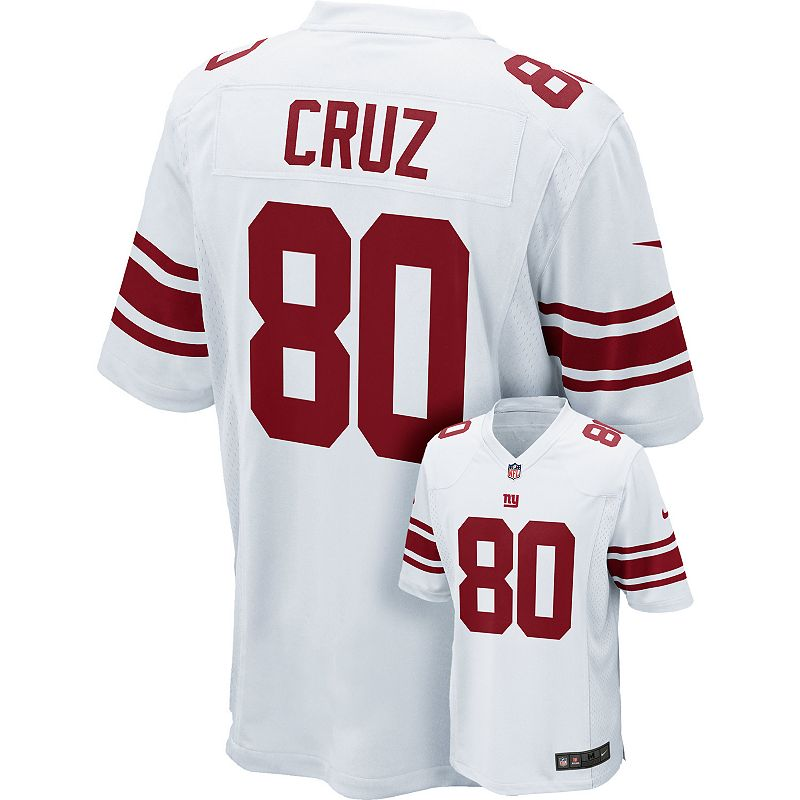 Men's Nike New York Giants Victor Cruz Game NFL Replica Jersey
