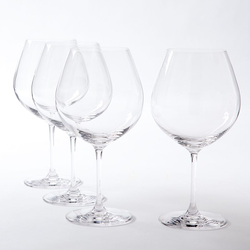 Lenox Vicenza 4-pc. Burgundy Wine Glass Set