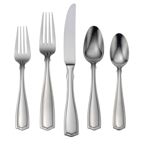 Oneida Carolina 18/10 Stainless Steel 65-pc. Flatware Set