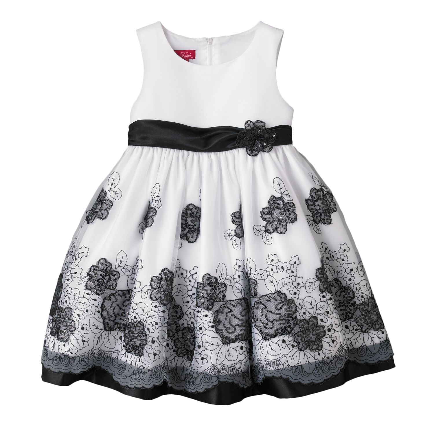 Black And White Toddler Dresses g5b6rOYp