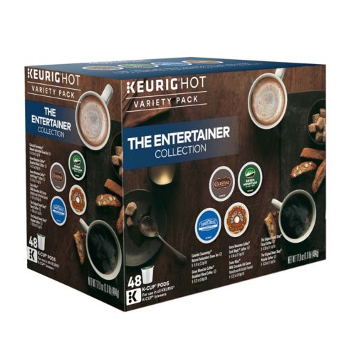 Keurig® K-Cup® Pod The Entertainer Variety Pack - 48-pk.