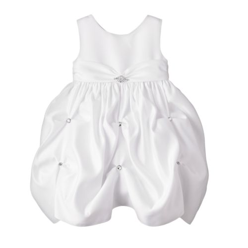 Princess Faith Embellished Pick Up-Style Dress - Baby