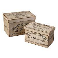 Chocolaterie 2-pc. Box Set