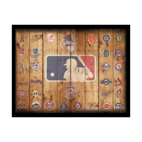 MLB Crate Wall Art