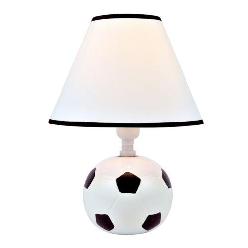 Kick Me Soccer Table Lamp