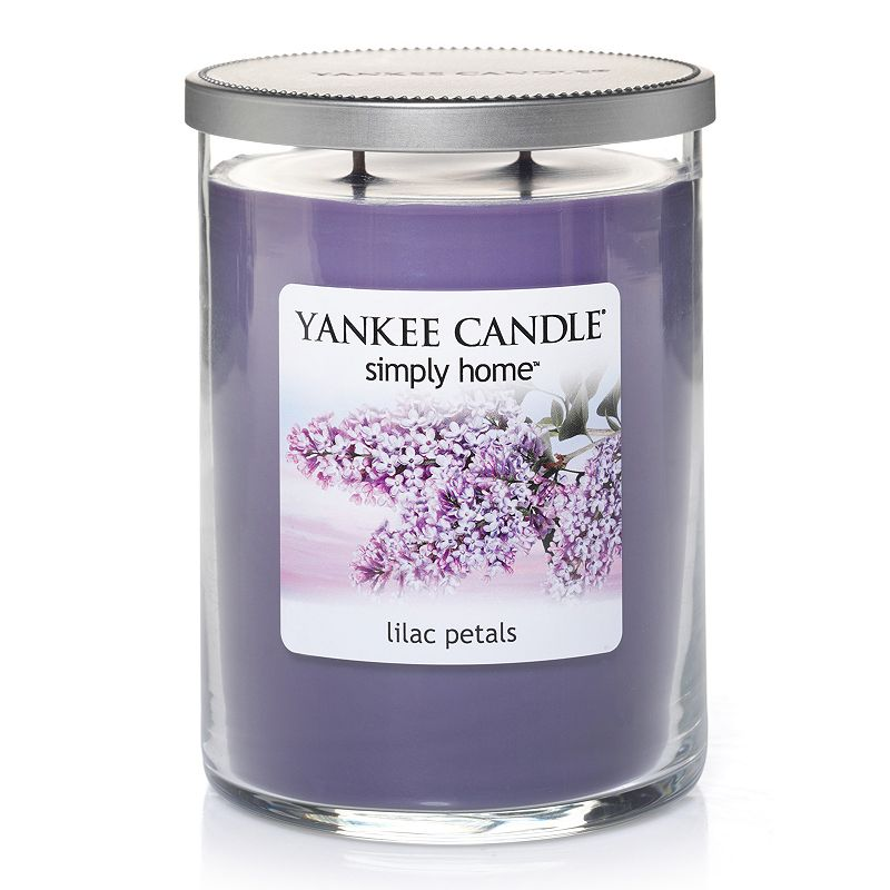 Yankee Candle simply home 19-oz. Lilac Petals Jar Candle
