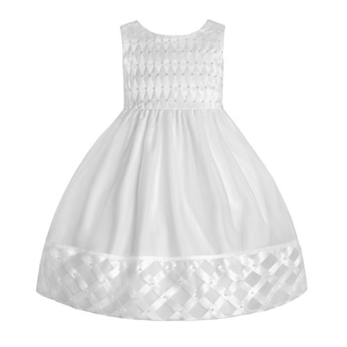 American Princess Lattice Dress - Toddler
