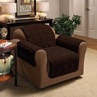 Plush Chair Protector